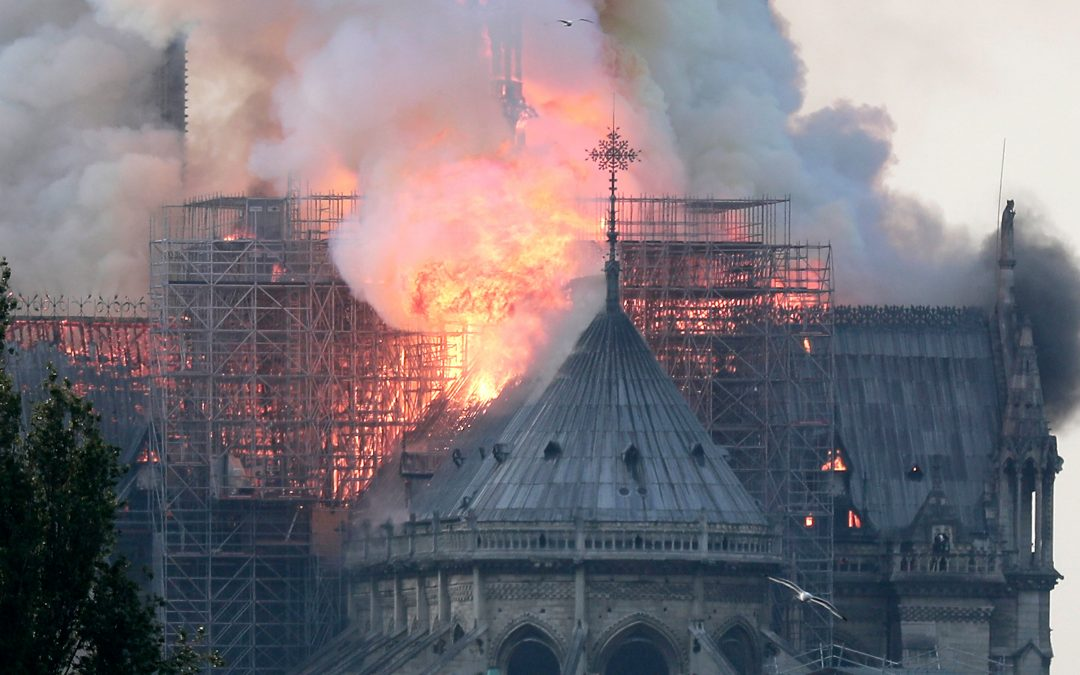 The Burning of the Notre Dame-Disaster or Messenger of Truth?
